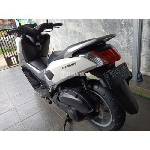 Motor Yamaha NMax 2017 Putih Bekas Orisinil KM Rendah Surat Lengkap - Kendal