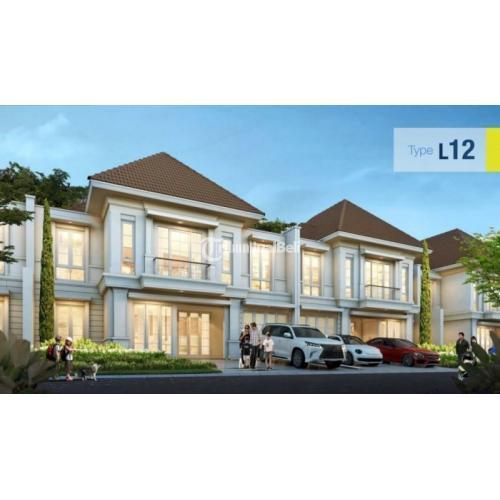Dijual Rumah Modern Minimalis Kondisi Baru Ada 3 Tipe Keamanan Terjamin di Gading Serpong - Tangerang