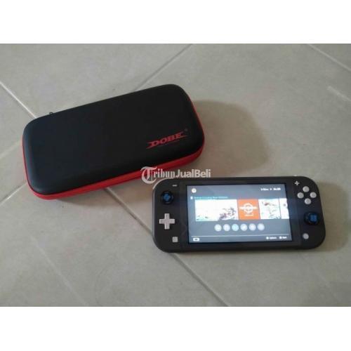 Konsol Game Nintendo Switch Lite CFW 128GB Bekas Fullset Normal - Klaten