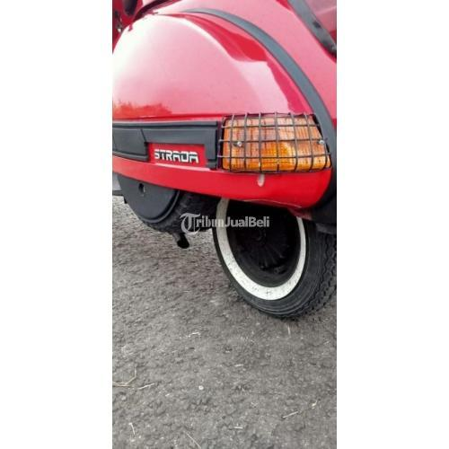 Motor Piaggio Vespa 1990 Bekas Plat Jakarta Surat Lengkap Kondisi Mulus - Jakarta Selatan