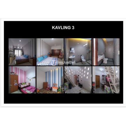 Dijual Tanah dan Bangunan 3 Kav LT/LB700/460 Daerah Tanah Kusir - Jakarta Selatan