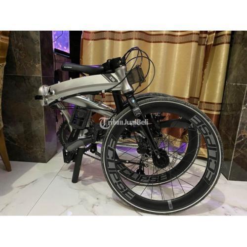 Sepeda Lipat Element Ecosmo Z9 Bekas Harga Nego Bisa Tukar Tambah - Kendal
