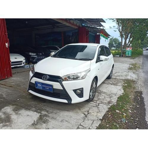 Mobil Toyota All New Yaris G 2015 AT Putih Bekas Pajak Panjang Body Mulus - Bantul