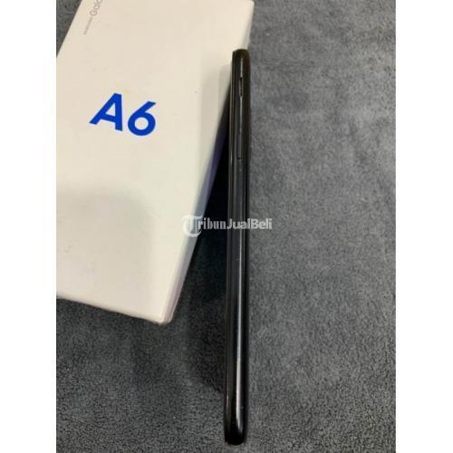 HP Samsung Galaxy A6 Ram 3/32GB Fullset Original Bekas Mulus - Semarang