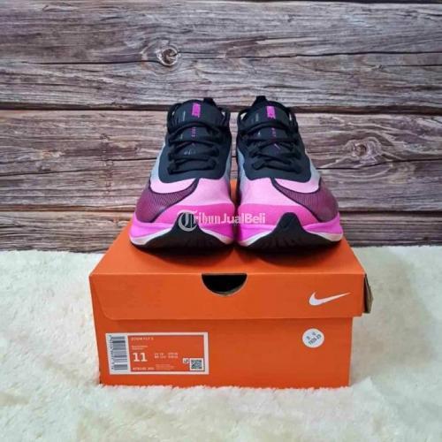 Sepatu Nike Zoom Fly 3 Pink Blast Size 37-40 Premium Garansi Uang Kembali - Medan