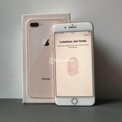 HP Apple Bekas iPhone 8 Plus 64GB Fullset Nominus Like New Harga Murah - Denpasar