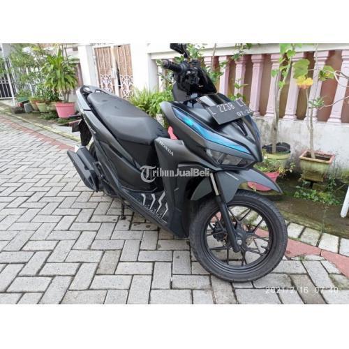 Motor Honda Vario 125CC CBS 2019 Bekas Surat Lengkap Warna Hitam - Surabaya