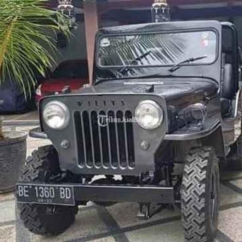 Jeep Wilis 1969 Manual Bekas Surat Lengkap Pajak Hidup Fungsi Normal - Bekasi