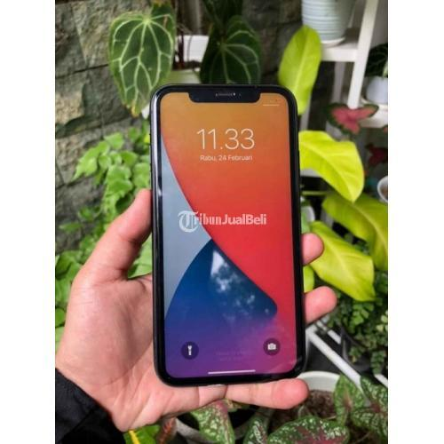 HP Apple iPhone 11 64GB Bekas Black Mulus Fullset iCloud Siap Reset - Malang
