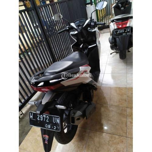 Motor Matic Honda Vario 125 2018 CBS ISS Normal Surat Lengkap Pajak On - Sidoarjo