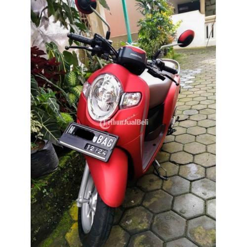 Motor Honda SCOOPY 2019 Bekas Surat Lengkap Kondisi Normal Harga Nego - Malang