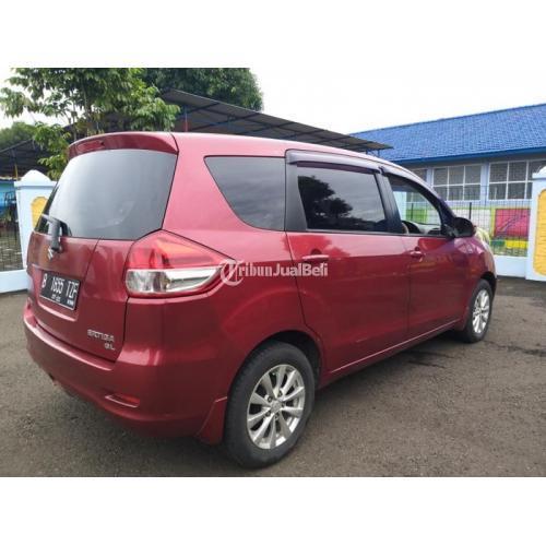 Mobil Suzuki ertiga Tipe GL Manual 2012 Bekas Warna Merah Kondisi Mulus Terawat - Bekasi