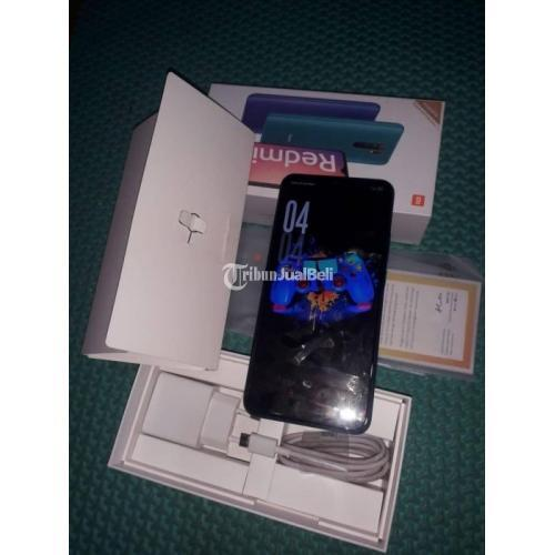 HP Xiaomi Redmi 9 Fullset Bekas Mulus No Minus Baterai Awet - Jakarta Barat