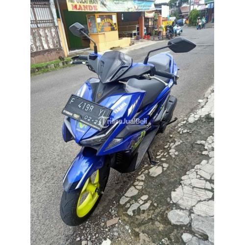 Motor Yamaha Aerox VVA 155CC 2018 Tipe R Bekas Surat Lengkap Mesin Halus - Tangerang