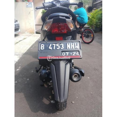Motor Honda beat 2019 Hitam Harga Nego Surat Lengkap Kondisi Bekas - Jakarta Pusat