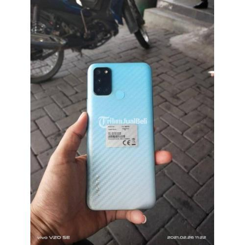 HP Realme 7i Ram 8/128GB Fullset Bekas Warna Biru Mulus Minus Pemakaian - Semarang