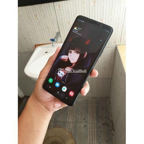 HP Samsung S9 Plus 6/64GB Fullset Bekas Kondisi Mulus No Minus - Malang