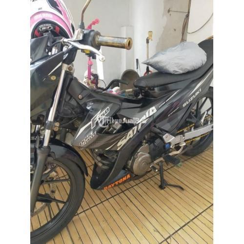 Motor Suzuki Satria FU 150 CC 2013 Bekas Surat lengkap Harga Mulus - Jakarta Utara