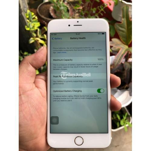 HP iPhone 6S Plus 16GB Bekas Baterai 100% Kamera Jernih Fungsi Normal - Bandung