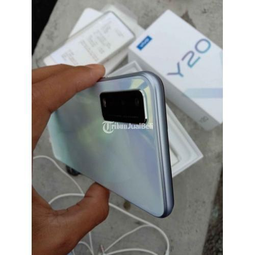 HP Vivo Y20 Bekas Ram 3/64GB Fullset Original Nominus Siap Garansi - Jogja