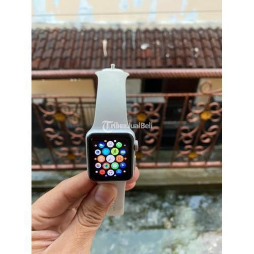 Apple Watch Series 3 38mm Bekas Ex iBox Like New Mulus Fullset Original - Semarang