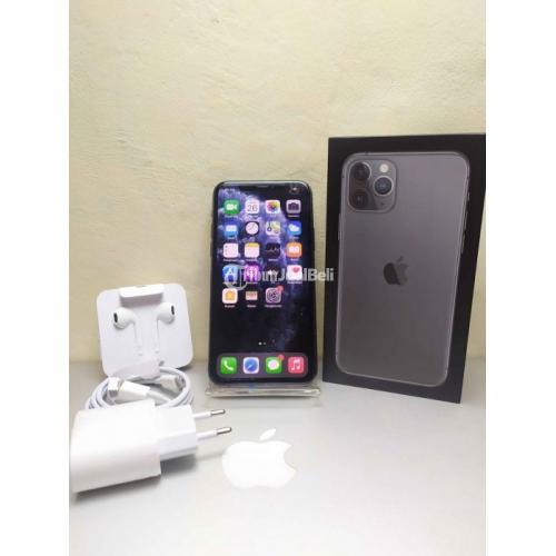 HP Apple iPhone 11 Pro 64GB Grey Bekas Like New Nominus Resmi Inter - Bekasi