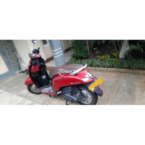 Motor Honda Scoopy 2019 Merah Matte Bekas Km Rendah Harga Nego - Malang
