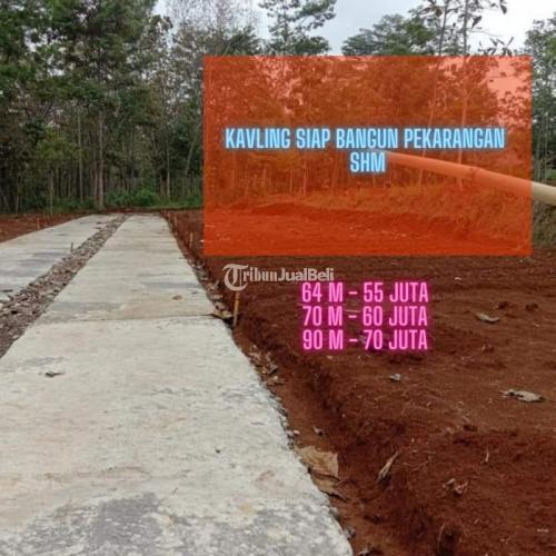 Dijual Kavling Harga Murah Siap Bangun Luas 62-90 m² di Jalan Karanpandang - Karanganyar