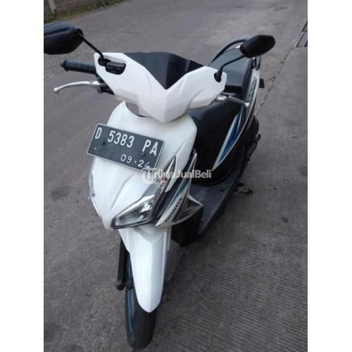 Motor Honda Vario LED 2014 Putih Kondisi Bekas Mulus Surat Lengkap - Cimahi