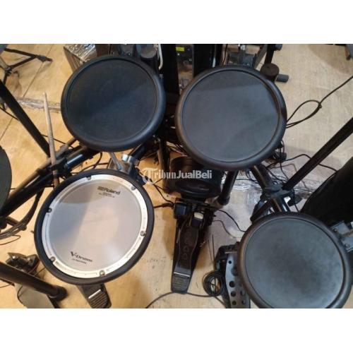 Drum Elektrik Roland TD17KL Bekas Fungsi Normal Fullset Siap Pakai - Surabaya