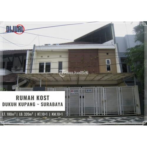 Dijual Rumah Kost Dukuh Kupang 10 Kamar Full Furnished - Surabaya
