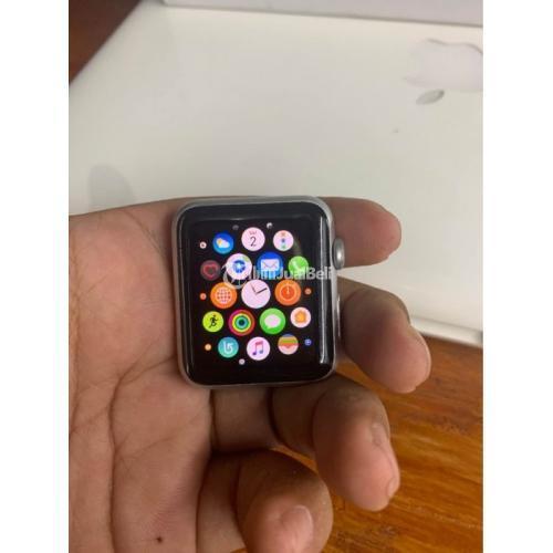 Smaetwatch Apple Watch Series 1 42mm Bekas Normal iCloud Siap Logout - Bandung