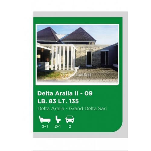 Dijual Rumah Modern di Waru Delta Aralia 2 No.9, Grand Delta Sari - Sidoarjo