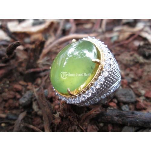 Batu Sungai Dareh Natural Body Glass Giwang Big Size Istimewa IDC012 - Jakarta