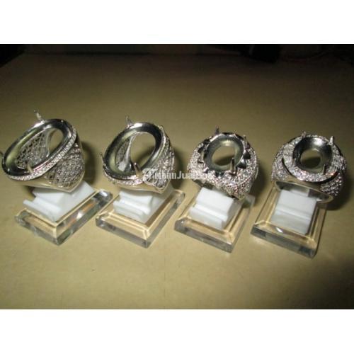 Ring Perak Hongkong 925 Grosiran Harga Pergram Minimal 1/2 Lusin KPRK001 - Jakarta