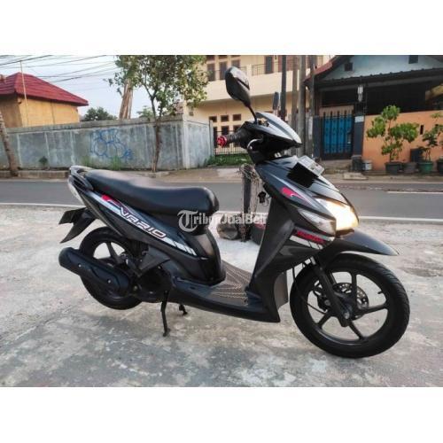 Motor Matic Honda Vario 110 Karbu 2011 Bekas Standar Normal Siap Pakai - Jakarta