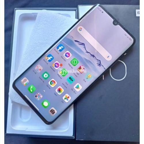 HP Xiaomi Mi Note 10 Ram 6/128GB Bekas Lengkap Normal Bisa TT - Makassar