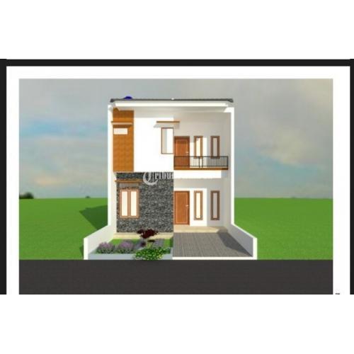 Dijual Rumah Siap Tanpa Renovasi Gratis Pagar Gerbang Minimalis di Babelan - Bekasi