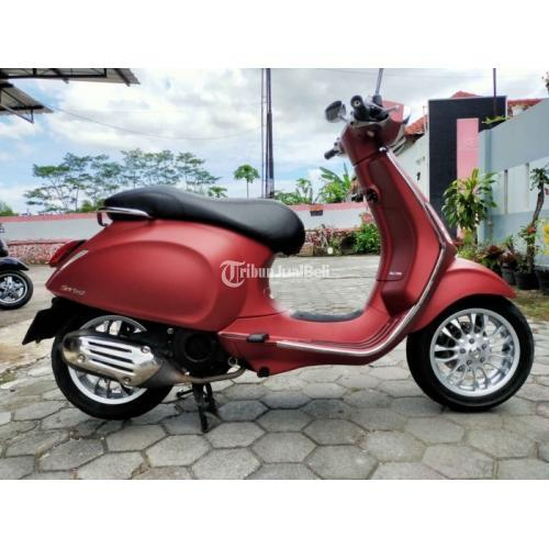 Motor Vespa Sprint I Get ABS 2019 Bekas Mulus Low KM Harga Nego - Jogja