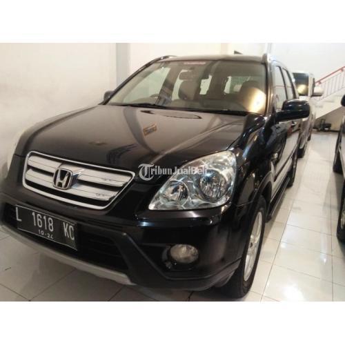 Mobil Honda CRV Matic 2006 Bekas Warna Hitam Pajak Hidup Bisa Kredit - Surabaya