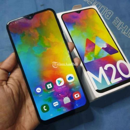 HP Samsung Galaxy M20 3/32GB Fullset Bekas Mulus No Minus - Semarang