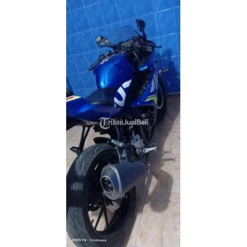 Motor Suzuki Sport GSX R 2017 Bekas Warna Biru Body Mulus Terawat - Surabaya