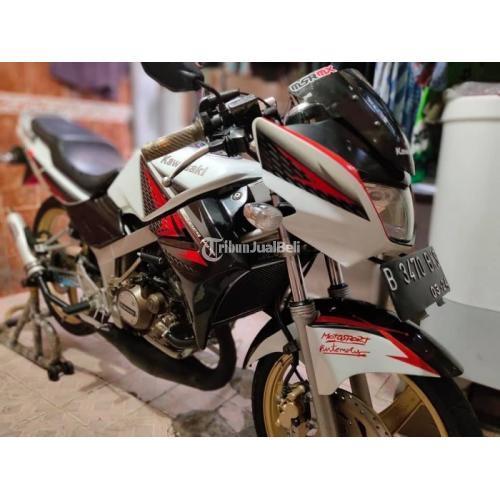 Motor Kawasaki Ninja 2014 Bekas Surat lengkap Mesin Halus Bisa TT - Jakarta Pusat