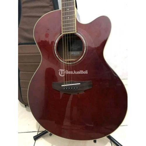 Gitar Akustik Yamaha CPX600 Compas Original Mulus Bekas Bisa TT - Jakarta Timur