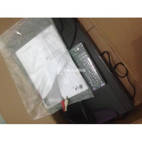 DvD Merk LG Bekas Fullset Remote, Kabel USB ke TV, Buku dan Box - Depok