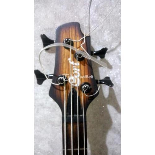 Gitar Bass Cort C4 Plus Made In Indonesia Pakai Baterai Bekas Harga Nego - Jakarta Pus