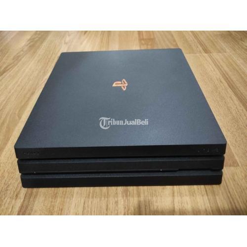 Konsol Game Sony PS4 Pro Model CUH-7106B Bekas Mulus Terawat No HEN - Jakarta