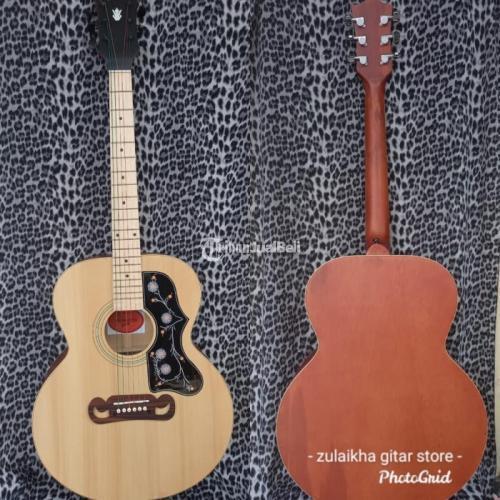 Gitar Akustik Custom Kualitas Premium Terjamin Ready Stok - Bekasi