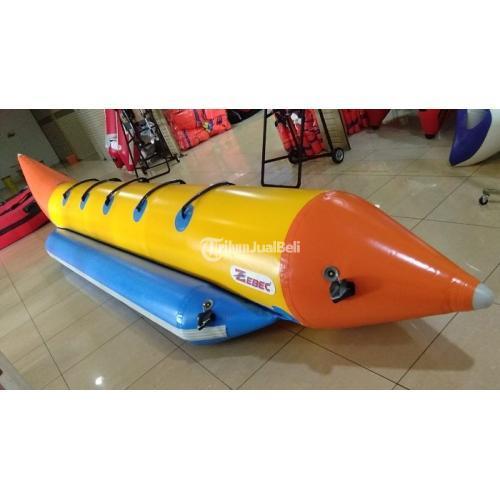 Banana Boat Zebec Kapasitas 5 Orang Perekatan Hot Welding System - Tangerang