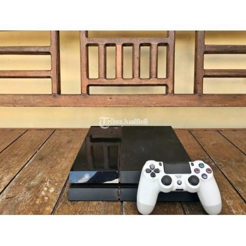 Konsol Game Sony PS 4 Fat 500 GB Bekas Mulus Normal Harga Nego - Jogja